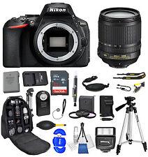 Nikon D5600 DSLR Camera + AF-S 18-105mm 32GB + Backpack Value Bundle