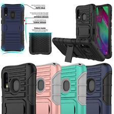 Para Samsung Galaxy A10 A50 de Doble Capa Carcasa Protectora De Teléfono a Prueba De Golpes Armadura Dura