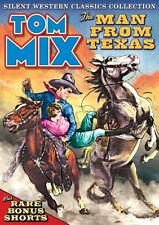 Tom Mix: Silent Western Classics Collection: The Man From Texas / Plus NEW DVD