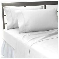 Hotel Collection 100%Egyptian Cotton Bedding Items 1000 TC White Solid All Size
