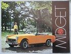 1969 MG Midget Brochure Publication Number 2701/A