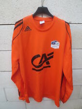 Maillot F.C LORIENT porté n°11 COUPE GAMBARDELLA 2010 shirt ADIDAS home L/S XL