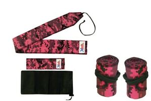 Wrist Wraps CAMOUFLAGE Premium Support For Weightlifting/Bodybuilding - A Pair