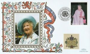 SIERRA LEONE 2007 QUEEN MOTHER 5th ANNIVERSARY OF HER DEATH BENHAM LE COVER c