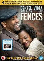 Vallas Denzel Washington Viola Davis Paramount GB 2017 Región 2 DVD & UV Nuevo