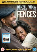 Clôtures Denzel Washington Viola Davis Paramount GB 2017 Région 2 DVD & UV Neuf