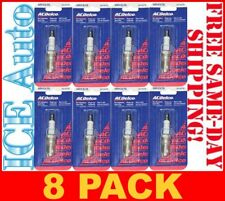 8 PACK of ACDELCO MR43LTS Specialty Marine Spark Plugs
