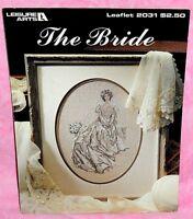 Leisure Arts The Bride Cross Stitch Chart Leaflet 2031 Wedding Day