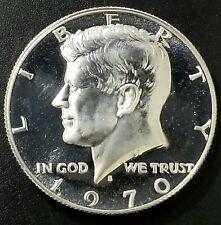 1970 S. Gem Proof 40% Silver Kennedy Half Dollar Cameo(1221)