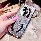 Gold Silver Chiara Ferragni 3D Big Eye Eyelash Case Cover for iPhone 6 6s Plus