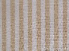 Tissu Rayures Patchwork Coton beige 0,25 rayé Tissu de coton