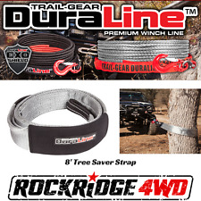 "Trail Gear DuraLine 3"" x 8' Tree Saver Strap 303680-KIT Recovery 4x4 Offroad"