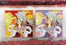 Kamisama Love Kiss Momozono Nanami Tomoe Soft Enamel Badge Brooch Pin Limited N