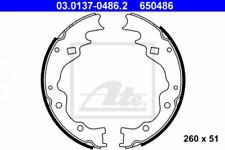Bremsbackensatz für Bremsanlage Hinterachse ATE 03.0137-0486.2
