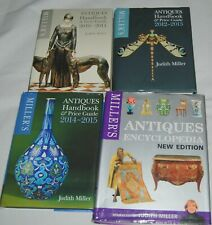 Miller's Antiques Handbook Price Guide Book Lot 4 Encyclopedia Judith Miller