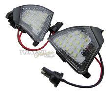 2x Espejo Exterior LED SMD Iluminación Ambiente Luz Set Para VW Seat Skoda