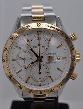 Tag Heuer Carrera Chronograph Calibre 16 Silver Dial Steel & Gold CV2050.BD0789