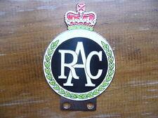 RAC CROMO SMALTO BADGE AUTO BMC JAGUAR MG Riley AC FORD Morgan Healey Jensen Van