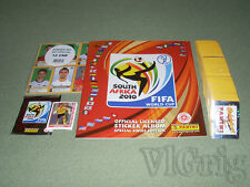 2010 World Cup South Africa PANINI Swiss - empty album + master set stickers