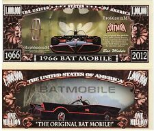 1966 Batmobile Classic Car Series Novelty Money
