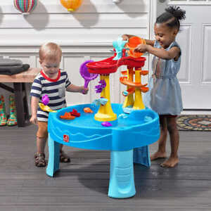 Step 2 Water Table with Accessories & Archway Falls Outdoor Kids Playing Fun New