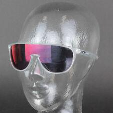 Occhiali da sole da uomo con lenti in rosso specchio 100% UVA & UVB