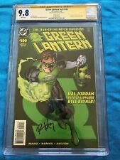 Green Lantern v3 #100 - DC - CGC SS 9.8 - Signed by Ron Marz - Hal Variant