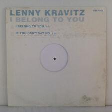 "Lenny Kravitz – I Belong To You - Vinyl, 12"", 45 RPM, Promo, Test Pressing"