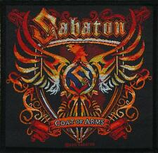 OFFICIAL LICENSED - SABATON - COAT OF ARMS SEW ON PATCH POWER METAL WAR