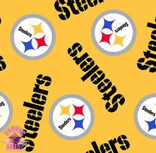 Pittsburgh Steelers NFL Football Fleece Fabric 6235 D