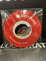 Loot Crate September 2016 Exclusive Loot Pins Speed Enamel Pin FREE SHIPPING