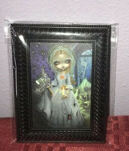 "Disney WonderGround Gallery Haunted Mansion Framed Giclee ""The Bride Returns"""