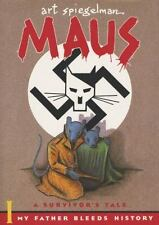 Maus I and II Paperback Boxed Set by Art Spiegelman Holocaust Survivor's Tale