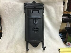 Vintage Griswold CastIron Mail Box Wall Mount With Paper Hooks