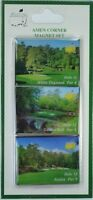 2016 MASTERS AMEN CORNER MAGNET SET from AUGUSTA NATIONAL