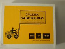 New Spalding Word Builders Cards for multi-sensory teaching of affixes