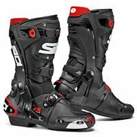 Sidi Rex CE Motorbike Motorcycle Boots Black / Black