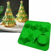 Silikonform Mold Weihnachten Tree Kuchenform Handwerk Abformen Backen