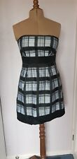 Black and silver dress size 14