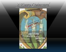 """SAN MARINO 2 EURO 2009 """" Creativity and Innovation """" Commemorative coin BU"""