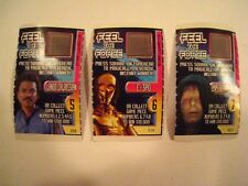 "STAR WARS 1997 Special Editions ""Feel The Force"" Game Pieces 5,6,7 TACO BELL"