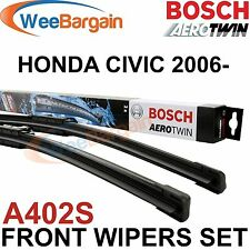 HONDA CIVIC MK8 VIII NEW Genuine BOSCH A402S Aerotwin Front Wiper Blades Set