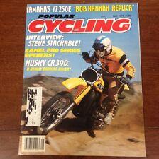 POPULAR CYCLING MAY 1978 YZ250 HUQVARNA 390 CR RM125 VINTAGE MOTOCROSS AHRMA KX