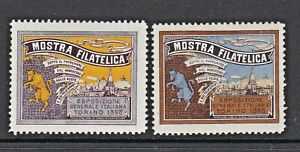MOSTRA FILATELICA - 1895 - TORINO -(114)- STAMP SHOW - CINDERELLAS