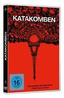 KATAKOMBEN - DER EINZIGE WEG HIER RAUS FÜHRT NACH UNTEN  DVD NEU
