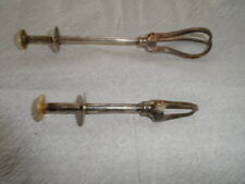 2 Vintage Swedish Ice Tongs exellent -very clean