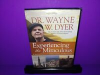 Experiencing the Miraculous Dr. Wayne W. Dyer 4-Disc DVD Set Brand New B478