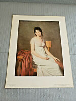 "National Gallery of Art, Jacques-Louis David "" Madame Hamelin "" Print 11"" x 14''"