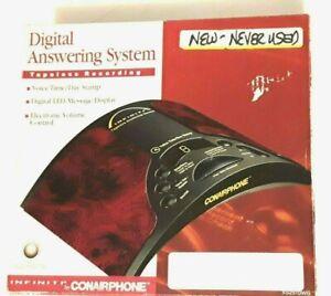 NOS Infiniti by Conairphone Digital Answering System Model XS2510WG Burgundy