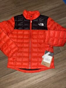 The North Face Boys jacket thermoball eco coat red new w tags size xxs (5) $120